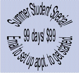 summer student special